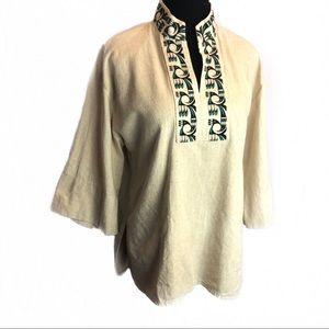 Gorgeous vintage Southwestern Tunic top blouse